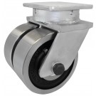 Dual Wheel Kingpinless Casters Up to 20,000lbs